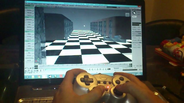Softimage gamepad camera
